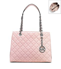 MICHAEL Michael Kors® Susannah Medium Quilted Leather Tote