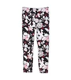 DKNY® Girls' 4-6X Garden Print Leggings