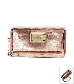MICHAEL Michael Kors® Jet Set Large Patent Leather Phone Wristlet