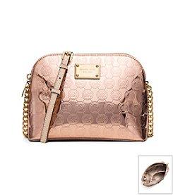 MICHAEL Michael Kors® Cindy Large Patent Leather Logo Crossbody