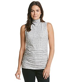 ruff hewn GREY Printed Turtleneck