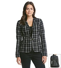 ruff hewn GREY Plaid Blazer