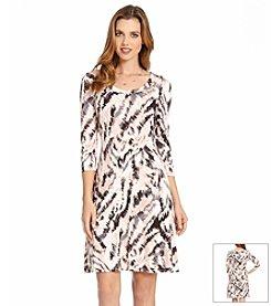 Karen Kane® Printed T-Shirt Dress
