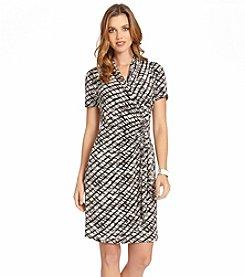 Karen Kane® Cascade Wrap Dress
