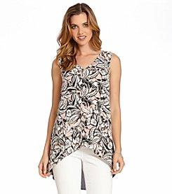 Karen Kane® Layered Print Tunic