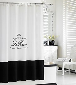 Kassatex Le Bain Paris Shower Curtain