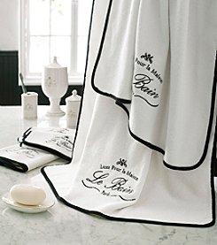Kassatex Le Bain Paris Embroidered Towel Collection