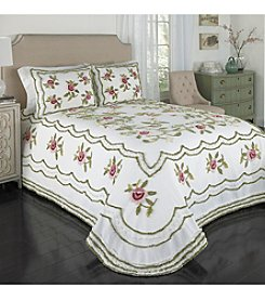 Beatrice Home Fashions Samantha Chenille Bedspread Collection