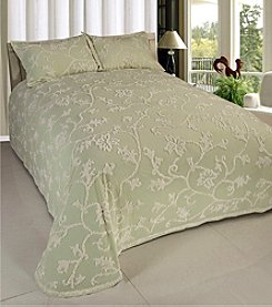Beatrice Home Fashions Long Branch Chenille Bedspread Collection