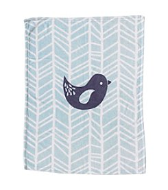 Lolli® Plush Printed Bird Blanket