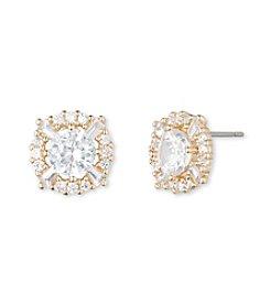 Anne Klein® Goldtone Crystal Stud Earrings
