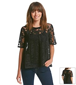 BCBGeneration™ Lace Tee