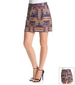 Sam Edelman™ Embroiderd Mini Skirt