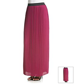 Sequin Hearts® Pleated Maxi Skirt