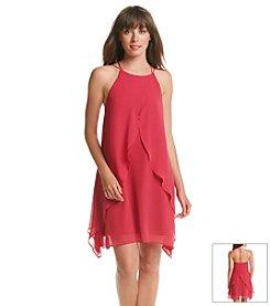 BCBGeneration™ Ruffle Front Halter Dress