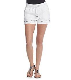 MICHAEL Michael Kors® Grommet Hem Shorts