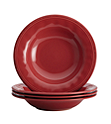 13-Pack Rachael Ray Cucina Cranberry Red Pasta Bowl