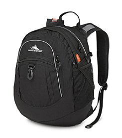 High Sierra® Black Fatboy Backpack