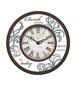 FirsTime Cherish Yesterday Wall Clock