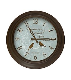FirsTime Bird Wall Clock