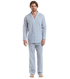 Geoffrey Beene® Men's Long Sleeve Long Leg Pajama Set