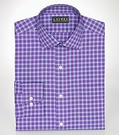 Lauren Ralph Lauren® Men's Classic-Fit Checked Broadcloth Warren Dress Shirt