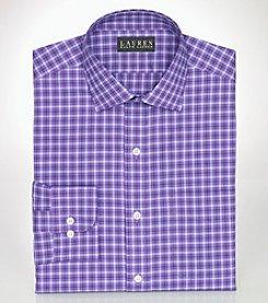 Lauren Ralph Lauren® Men's Classic-Fit Checked Broadcloth Warren Dress Shirt