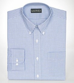 Lauren Ralph Lauren® Men's Classic-Fit Checked Broadcloth Dress Shirt