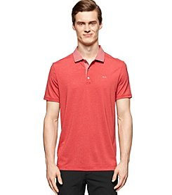 Calvin Klein Men's Short Sleeve Core Grindle Stripe Polo