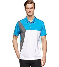 Calvin Klein Men's Short Sleeve Color Block Steath Polo