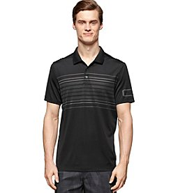 Calvin Klein Men's Short Sleeve Stripe Chest Polo