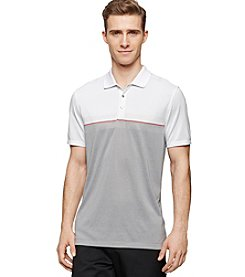 Calvin Klein Men's Short Sleeve Engineered Chest Polo