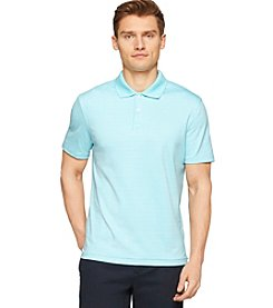 Calvin Klein Men's Short Sleeve 2-Button Liquid Polo