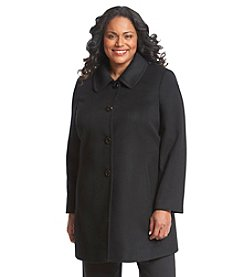 Forecaster Plus Size Single-Breasted Club Collar Coat
