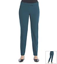 Anne Klein® Solid Slim Pant