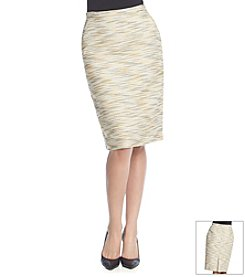 Anne Klein® Tweed Skirt
