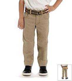 Lee® Boys' 4-7 Bobcat Belted Jeans