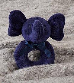 Ralph Lauren Childrenswear Baby Boys Plush Elephant Rattle