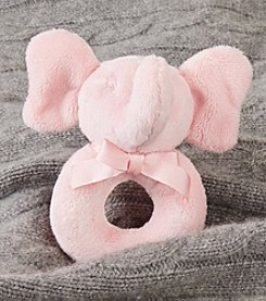 Ralph Lauren Childrenswear Baby Plush Elephant Rattle