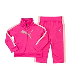 PUMA® Girls' 2T-4T Sparkle Glow Tricot Set