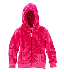Little Miss Attitude Girls' Fuzzy Hoodie