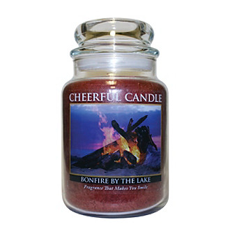 A Cheerful Giver Bonfire By The Lake Candle