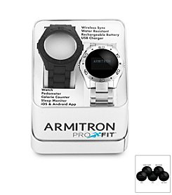 Armitron Men's Pro-Fit Interchangeable Watch Set