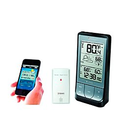 Oregon Scientific® Bluetooth-Enabled Weather Station