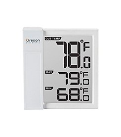 Oregon Scientific® Window Thermometer with Min and Max Temperature