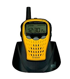 Oregon Scientific® Portable Emergency Weather Radio