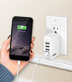 JUSTIN by Innovative Technology 4 Port USB Power Hub