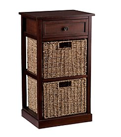 Southern Enterprises Amory 2-Basket Storage Shelf