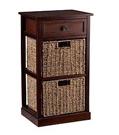 Southern Enterprises Amory 2-Basket Storage Shelf