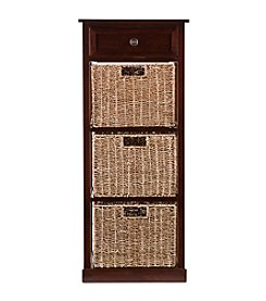 Southern Enterprises Amory 3-Basket Storage Tower
